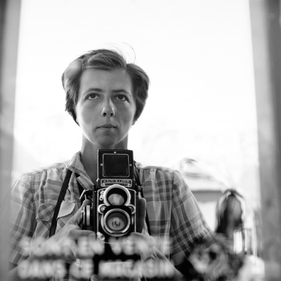 © Estate of Vivian Maier, Courtesy of Maloof Collection and Howard Greenberg Gallery, NY.