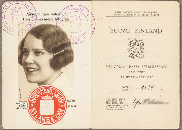 Helsinki National Archives, biographical material. Photo: Virve Laustela / The FInnish Museum of Photography