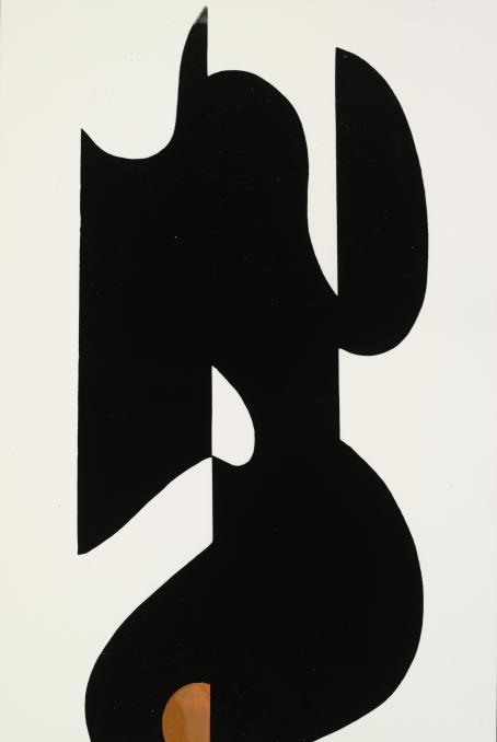 Juhani Riekkola, sarjasta Muotoja, 1963. Kollaasi, hopeagelatiinivedos. Suomen valokuvataiteen museo, D2014:16/1.
