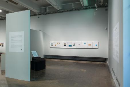 Kuvasarja on esillä museon Kuvakulma-tilassa. Kuva: Virve Laustela / Suomen valokuvataiteen museo