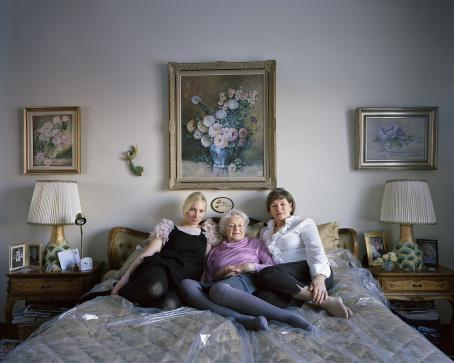 Erica Nyholm: With my Mother and Grandmother, 2010