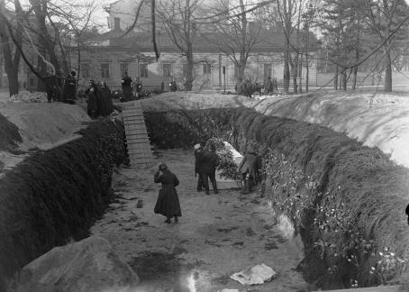 Tyyne Böök, 1918, Suomen valokuvataiteen museo.