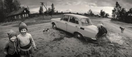 Pentti Sammallahti: Vuokkiniemi, 1991.