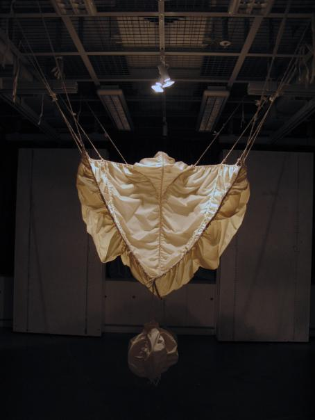 Mi Tjio: Untitled, 2009 (textile sculpture).