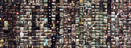 Kollaasi jossa on satoja kuvia.