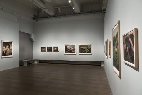 Elis Hoffmanin näyttely Fading Projekti-tilassa vuonna 2017. Kuva: Virve Laustela / Suomen valokuvataiteen museo.