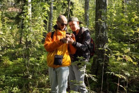 Sienet ovat kiehtovia kuvattavia. Kuva: Virve Laustela, Suomen valokuvataiteen museo