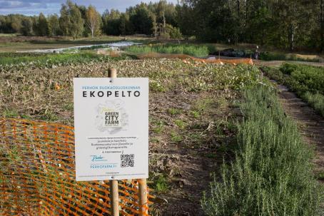 Syksyn viimeinen retki tehtiin Malmilla sijaitsevalle Perho Green City Farmille. Kuva: Virve Laustela, Suomen valokuvataiteen museo