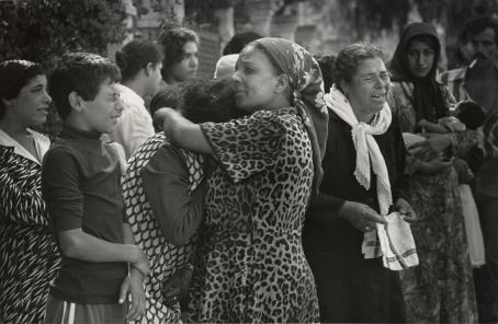 Leena Saraste: Beirut, 1982 / Suomen valokuvataiteen museon kokoelma.