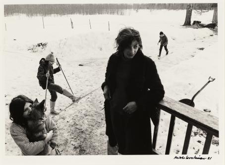Mikko Savolainen, 1981 / Suomen valokuvataiteen museon kokoelma.