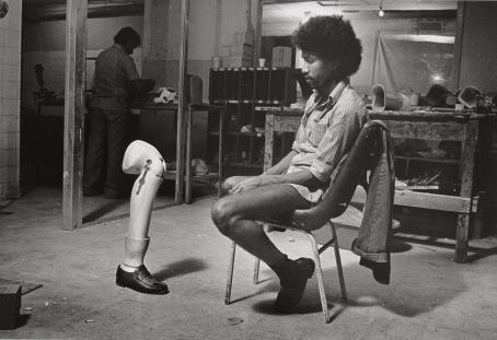 Leena Saraste: Beirut, 1980 / Suomen valokuvataiteen museon kokoelma.