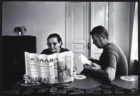 Ben Kaila, sarjasta Siirtosuomalainen, 1972. Suomen valokuvataiteen museo.