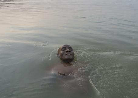 Uwa Iduozee: Sunny, from the series They walked on Water, 2018.