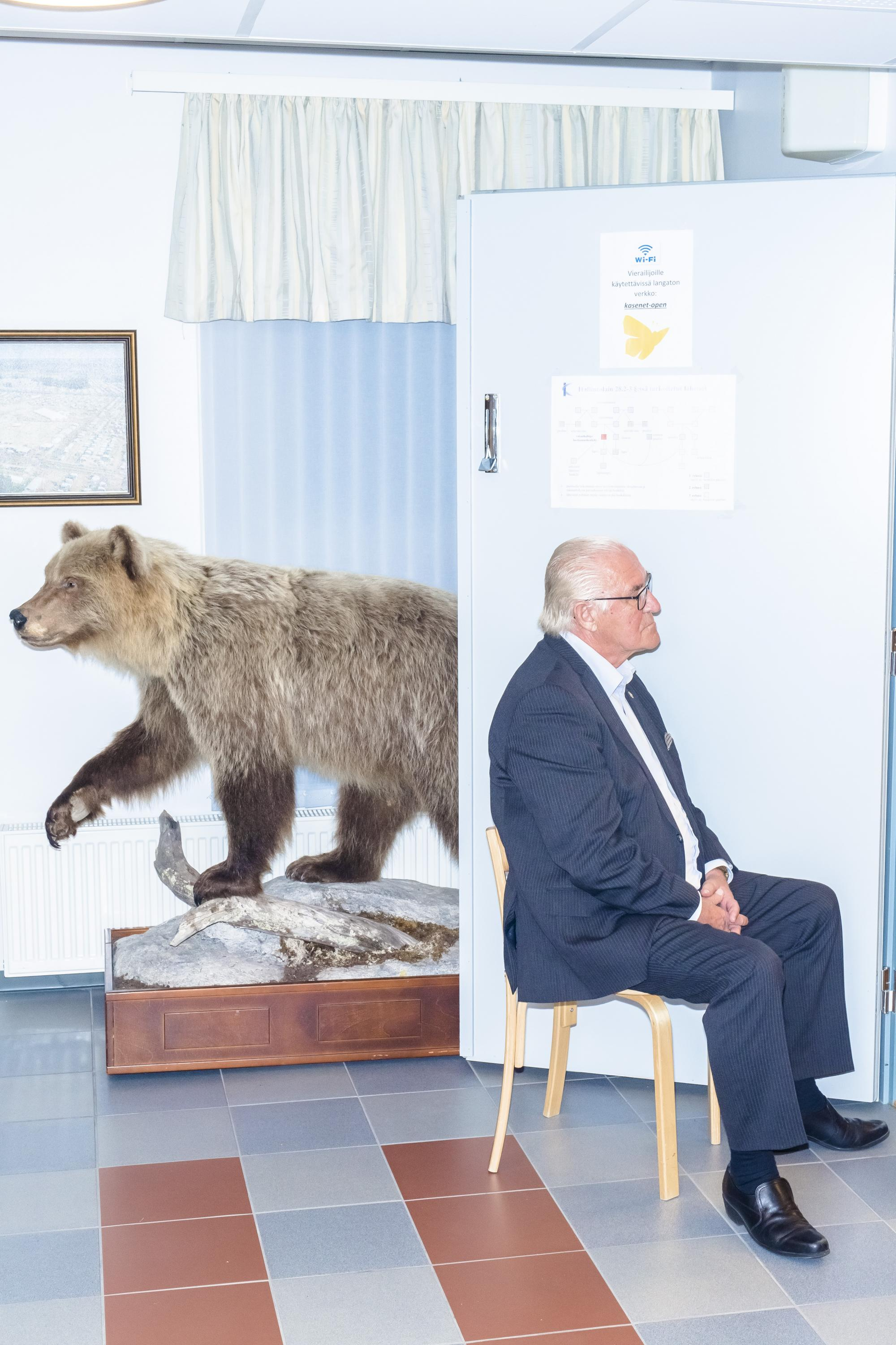 Sakari Piippo: from the series Some Observations on the Political System of Finland, 2015–2019.